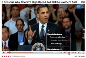 Screenshot eines Videos mit Anforderung für die Untertitelung